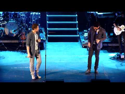 Matthew Morrison and JC Chasez - This I Promise You LIVE @ Hammersmith Apollo, London