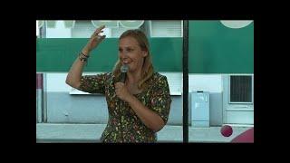 Ingrid Wenzel ist das Goethe Institute mit Benefits