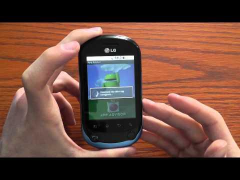 LG Optimus Chat videorecensione CellulareMagazine.it