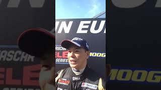 Kenko Miura post Semi Final 2 interview | NASCAR GP Germany