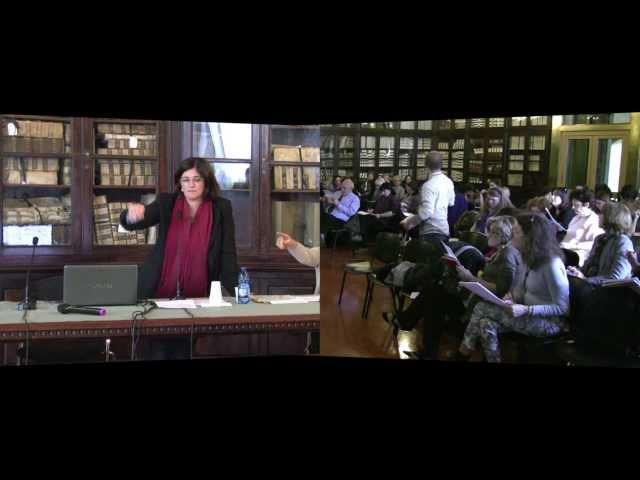 Stefania Stefanelli, Testo e scrittura - Accademia dei Lincei e Scuola Normale - 20 marzo 2014