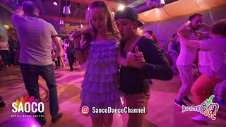 Nikita Poryadkov and Yuliya Rozhdestvenskaya Salsa Dancing at Rostov For Fun Fest, Fri 02.11.18 (SC)