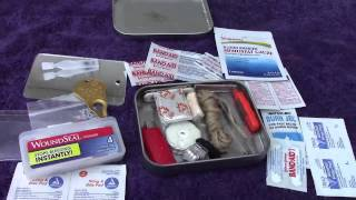 "A Realistic Altoids Type Pocket ""Survival"" Kit"