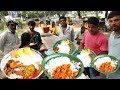 Hard Working Famous Ladys Selling Roadside Food Hyderabad | Chicken, Boti @ 70Rs | Veg @ 50 Rs only