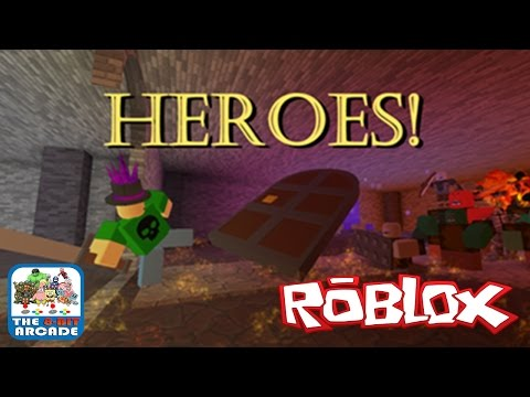 Roblox: Heroes! - Be A Medieval Action Hero And Explore An Endless Dungeon (Xbox One Gameplay)