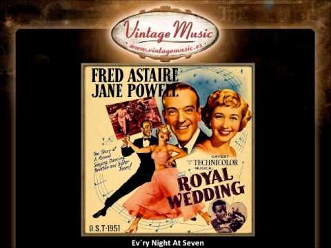 Fred Astaire & Jane Powell - Every Night At Seven (Royal Wedding) (VintageMusic.es)