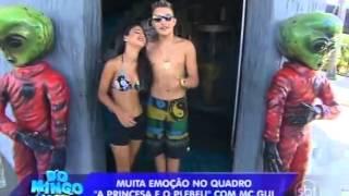 Domingo Legal (16/02/14) - MC Gui realiza sonho de fã em A Princesa E O Plebeu