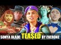 Who Roasts & Teases Sonya Blade the Best? (Relationship Banter Intro Dialogues) MK 11