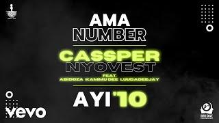 Cassper Nyovest - Ama Number Ayi '10 (Visualizer) ft. Abidoza, Kammu Dee, LuuDaDeejay