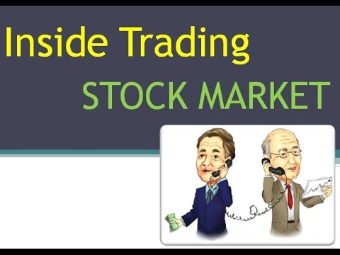 what is insider trading with example