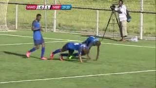 بالفيديو..وفاة لاعب تنزاني بعد دقائق من احتفاله الغريب بالهدف!