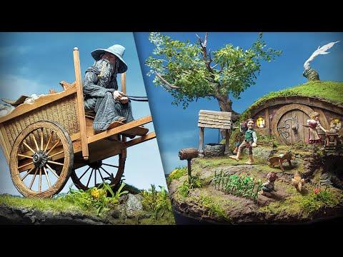 Hobbit Village & Gandalf