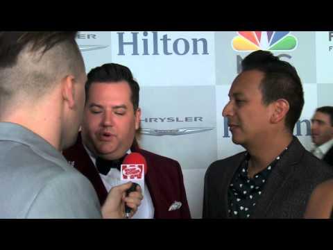 Ross Matthews & Salvador |  The Golden Globes NBC After Party | Popcorn Talk