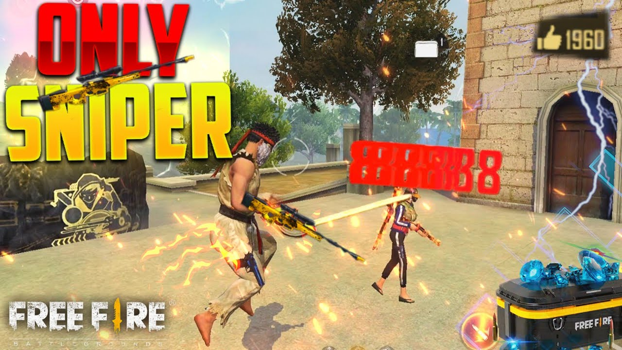 Entry of New Sniper Lord in Pro Lobby 😱 - Garena Free Fire