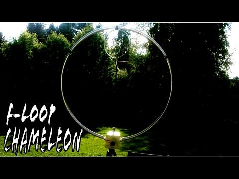 Chameleon F-LOOP Magnetic Loop Antenna Indoor Test