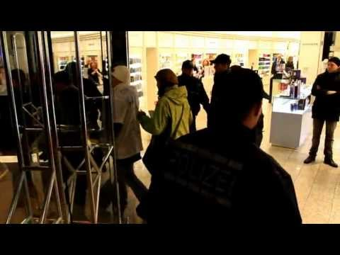 Demo im Kaufhaus