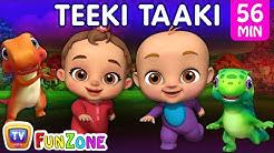 Teeki Taaki Action Song | Popular 3D Nursery Rhymes & Baby Songs for Babies | ChuChu TV Funzone