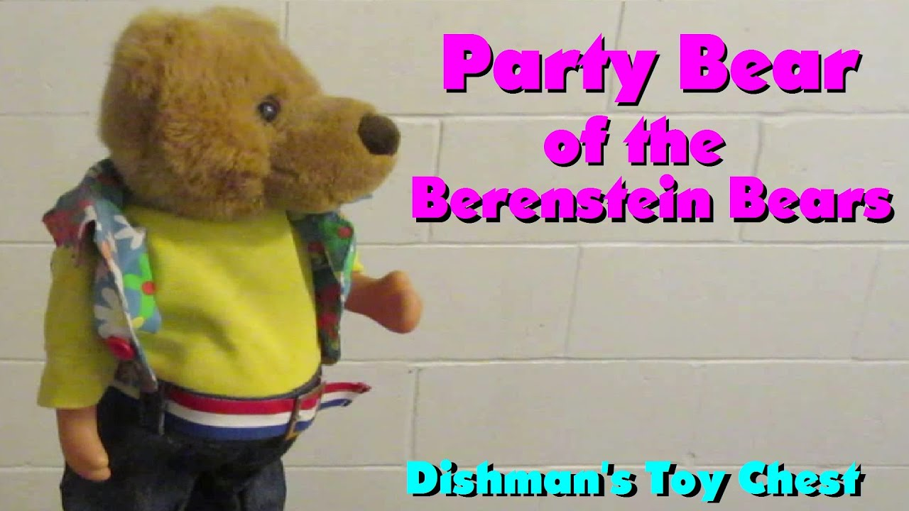 Party Potbelly Bear Of The Berenstein Bears Dancing Singing Toy