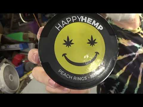 PawPaw Introduces CBD Infused Peach Rings from Happy Hemp
