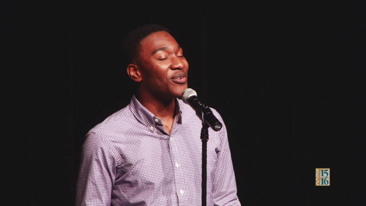 SCOE Poetry Out Loud 2017: Chigozie Maduchukwu (Round 2)