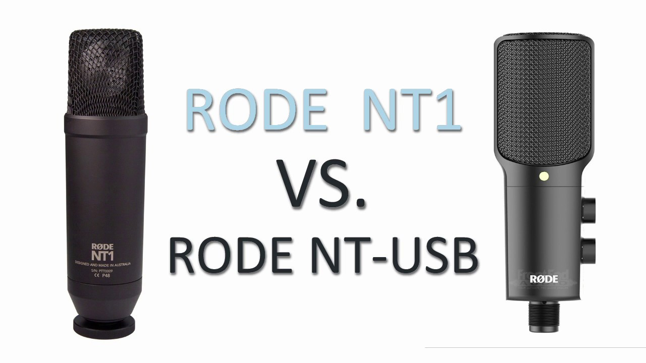 rode nt1 vs rode nt usb voice over microphone comparison test youtube. Black Bedroom Furniture Sets. Home Design Ideas