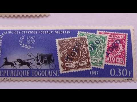 Collection Of Republique Du Togo Postage Stamps