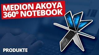 MEDION AKOYA E2228T - 360° Convertible-Notebook mit MrHelfersyndrom | MEDION NOTEBOOK