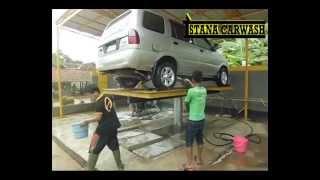 usaha cuci mobil menggunakan hidrolik cuci mobil type h