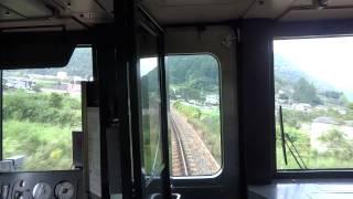 岡山から鳥取へ向かう「特急スーパーいなば」が智頭急行線を走る際の先...