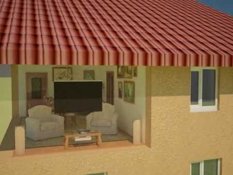Презентация интерьера и экстерьера жилого дома