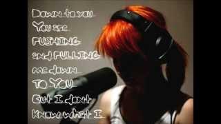 Paramore - I Caught Myself (with Lyrics)