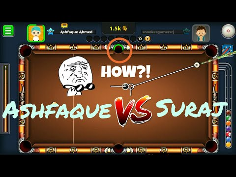 INSANE TRICK SHOTS // INDIRECT HIGHLIGHTS Ft. Bank On Black (Suraj) - Miniclip 8 ball pool