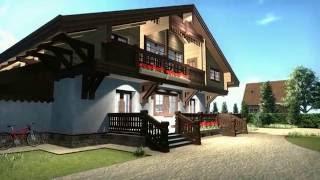 видео Проекты домов в стиле шале