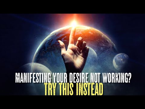 Hard Time Manifesting With Law Of Attraction? This Will Help!