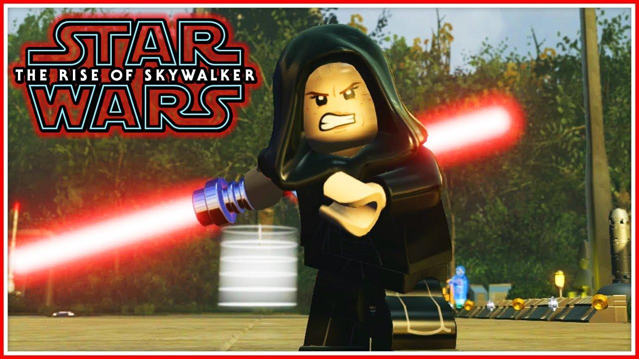 Lego Star Wars Episode 9 Evil Rey Youtube