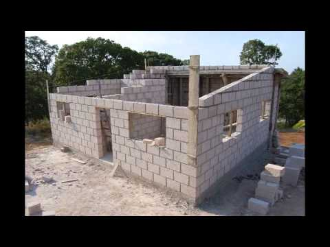 Construccion casa sillar segunda parte youtube for Construccion casas