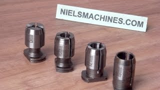 """1 x CLARKSON SMALL S TYPE MILLING COLLET 5\8/"""""""
