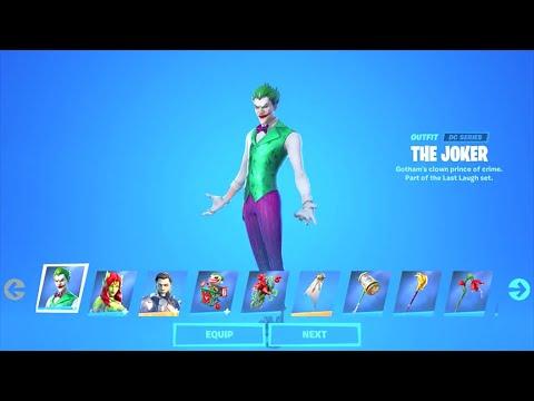 New The Joker Bundle Fortnite Battle Royale Youtube Набор с джокером и ядовитым плющом появился в файлах фортнайт | фортнайт (fortnite) fortnitefun.ru. new the joker bundle fortnite battle royale