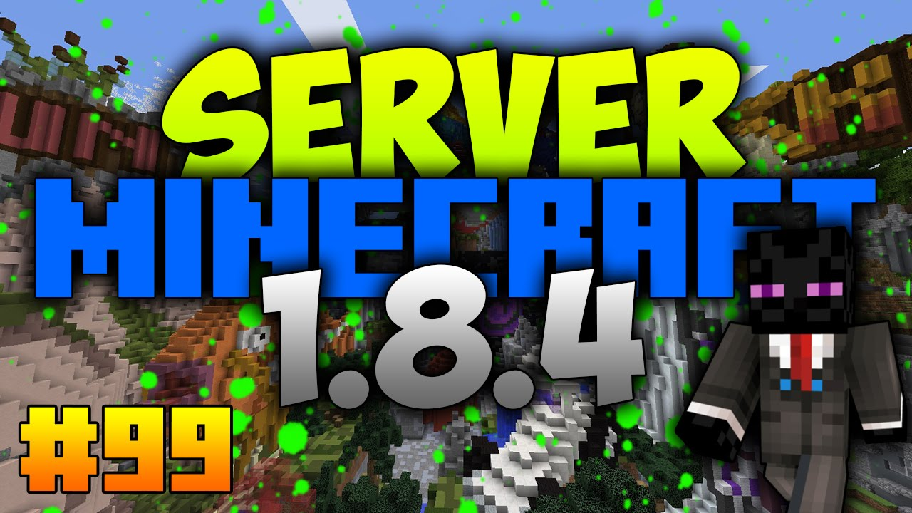 how to make a minecraft server 1.8.4 youtube