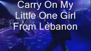 Europe: Girl From Lebanon Song With Lyrics