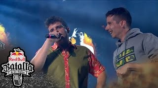 SKONE vs ARKANO – Semifinal: Final Internacional 2016 –  Red Bull Batalla de los Gallos thumbnail