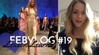 LESSON LEARNT! Topshop, Temperley & More LFW! FebVlog 19