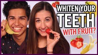 DIY Teeth Whitening - Makeup Mythbusters w/ Maybaby and Alex Aiono