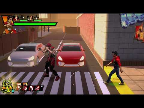 Cobra Kai: The Karate Kid Saga Continues Cobra Kai dojo gameplay 2 |