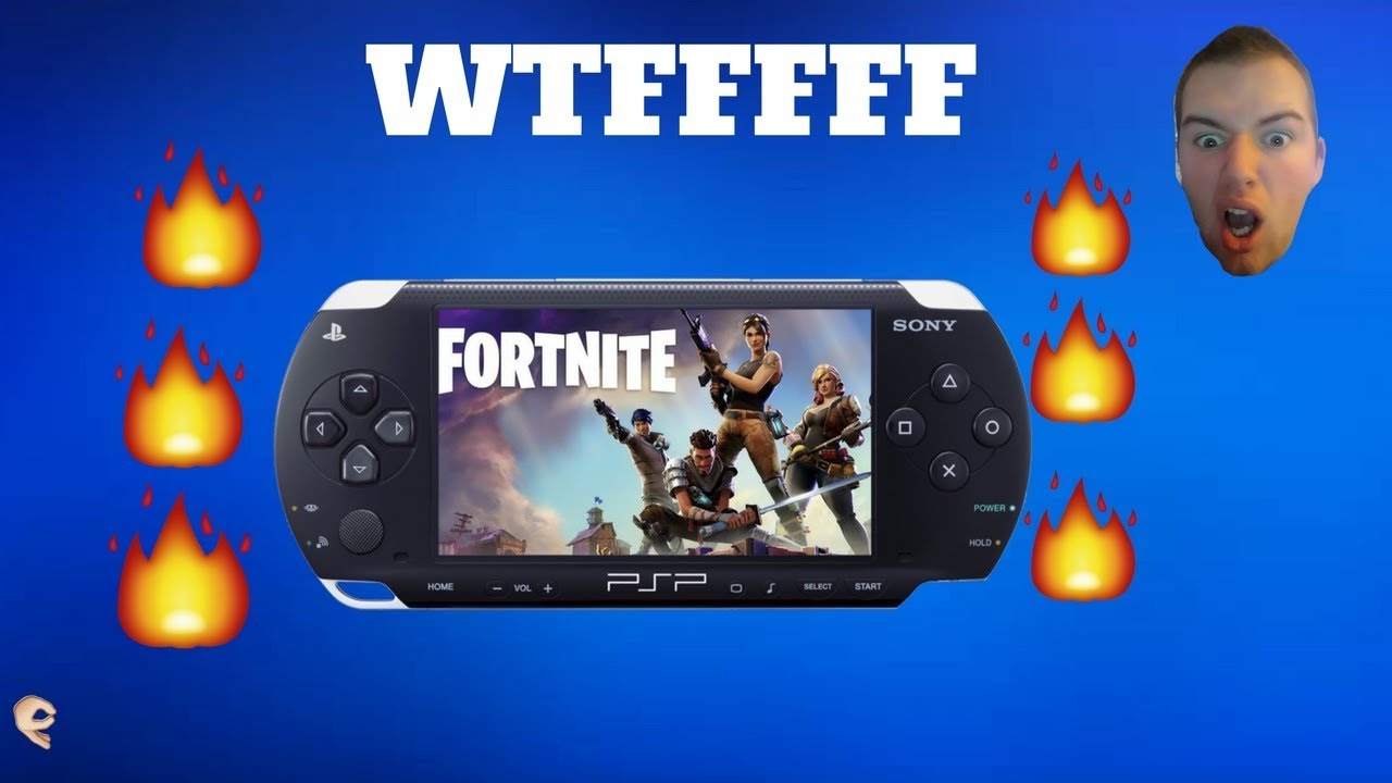 fortnite on psp omg crazyyyy - fortnite on psp