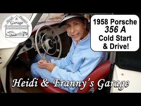 1958 Porsche 356A Cold Start and Drive