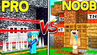 BEST PRO HOUSE VS. BEST NOOB HOUSE! - MINECRAFT