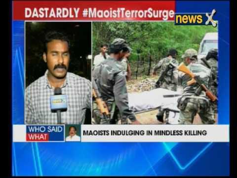 Chhattisgarh: Maoists attack CRPF personnel in Jharkhand