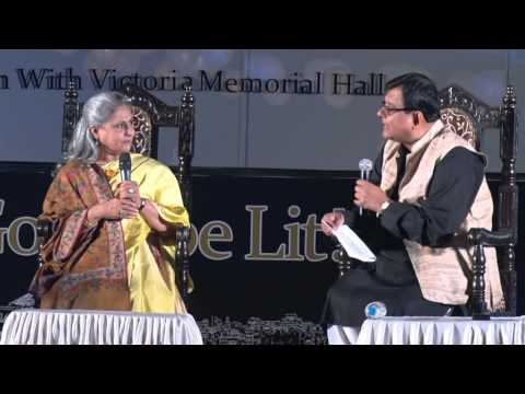 Jaya Bachchan at Tata Steel Kolkata Literary Meet 2015 -- Part 1