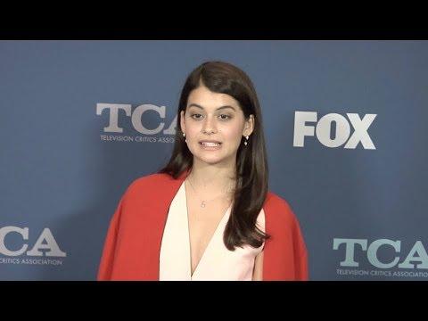 Sofia Black D Elia at 2018 Winter TCA Tour FOX All Star Party